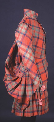 Tartan costume made for a gentleman in 1822