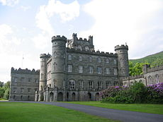 Taymouth Castle on the site of Balloch
