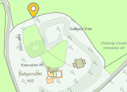 Finlarig site plan from  https://canmore.org.uk/site/24194/finlarig-castle