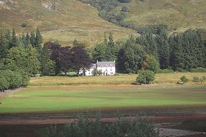 Glengyle House from south