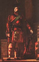 King George IV in Highland dress