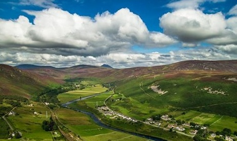 east helmsdale and marril, Highland Aerial Views