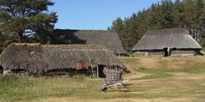 A traditional village at the Highland Folk Museum, Newtonmore